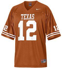 Nike Texas Longhorns #12 Boy's College Replica Football Jersey