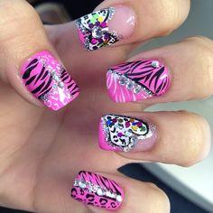 love zebra and cheetah