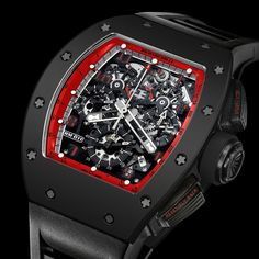 News: Introducing the Richard Mille RM 011 Flyback Chronograph 'Midnight Fire'. 88-Piece Limited Edition for the Americas. — WATCH COLLECTING LIFESTYLE