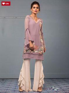 Zainab Chottani Lavender Rose Eid Pret 2017 - Original Online Shopping Store