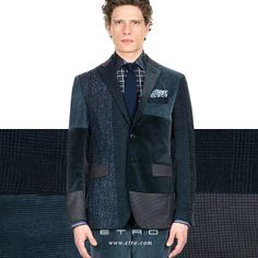 Contemporary Patchwork: The patchwork jacket.