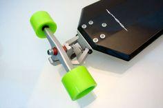 Infinite Combo Longboard. | Einox Art Skateboard Trucks And Wheels, Skate Bord, Long Skate, X Games, Skateboard Design, Longboarding, Bicycle Design, Deck Design, Industrial Design