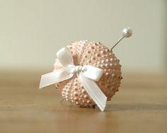 Shell Lapel Pin Beach Wedding Boutonniere by FairyfolkWeddings, $10.00