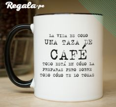 Regalos personalizados Lovers, Lol, Mugs, Tableware, Coffee Lovers, I Love Coffee, Cup Of Coffee, Personalized Gifts, Souvenir