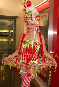 Parties and Weddings London and UK Candy Hostesses & Human Canape Trays; Parties and Weddings London and UK Food Costumes, Candy Costumes, Costume Ideas, Candy Shots, Lollipop Candy, Party Entertainment, London Wedding, Halloween Party, Halloween Queen