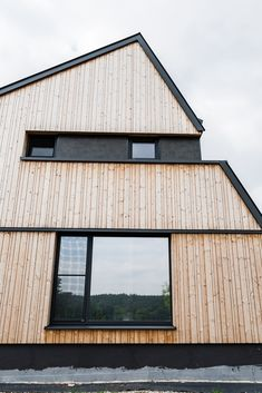 #holzhaus #clt #hausbau #hausbauinspiration #eigenheim Shed, Outdoor Structures, Build House, Architecture, Projects, Barns, Sheds