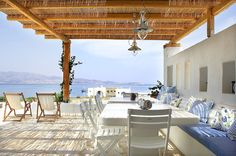 Privately owned Luxury Villa for rent in Sorros on the Cycladic Island of Antiparos