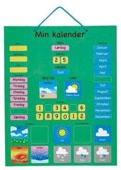 Flott ny kalender til barna!