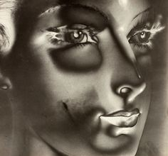 MAURICE TABARD Solarization No. 1 (Solarized Portrait, 1932)