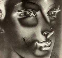 MAURICE TABARD Solarization No. 1 (Solarized Portrait, 1932)