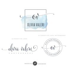 Branding Kit, Branding Package, Premade Logo, Watercolor Logo, Gold Logo, Mint Logo, Calligpaphy Logo, Photography Logo, Wedding Logo. This Premade Branding Kit would be perfect for photographers, event planners, wedding venues, interior designers, stylists, boutiques, make-up artists and other. AFTER PURCHASING, EACH MY PROJECT WILL BE CUSTOMIZED BY FOLLOWING: ♥ YourName/Store name/Business Name ♥ Your initials ♥ Optional Tagline NO FONT or CAPITAL/LOWERCASE letters change of...