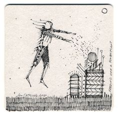 'feeding off a power plant' coaster drawing