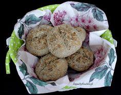 Bułeczki śniadaniowe pszenno-żytnie ze słonecznikiem | Zapachy Kuchni