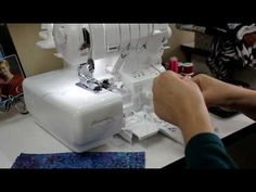 Serger a Zipper...yes you can! - YouTube
