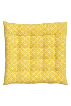Patterned seat cushion | H&M