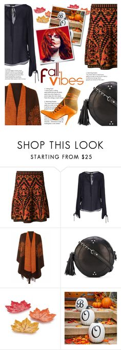 """""""Fall Vibes - October!"""" by sara-cdth ❤ liked on Polyvore featuring M Missoni, Plein Sud, Jérôme Dreyfuss and Improvements"""