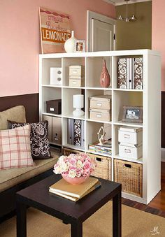 Storage and Room Divider in One