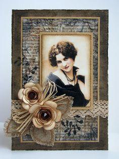 Vintage Style Card. Paper Fever: April 2012