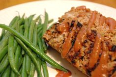 Healthy Low Carb Grilled Meatloaf