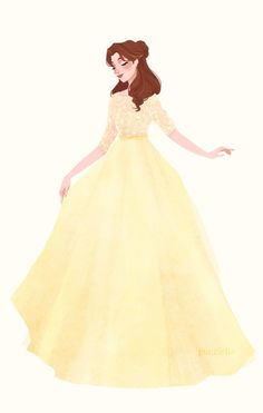 belle, disney, and beauty and the beast image Disney Belle, Bella Disney, Disney Girls, Disney Fan Art, Deco Disney, Disney Princess Art, Princess Style, Disney And Dreamworks, Disney Pixar