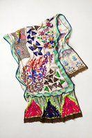 Embroidered Lavenia Scarf