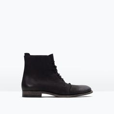 STRETCH LEATHER BOOT-Boots and ankle boots-Shoes-MAN | ZARA United States