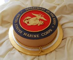 Awesome grooms cake. Obviously only for the few and the proud. :)