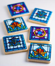 Fantastic Pictures Stained Glass cookies Suggestions Within the autumn with 1998 I made the choice in which I personally needed a different activity pertaining to . Fancy Cookies, Iced Cookies, Biscuit Cookies, Cupcake Cookies, Sugar Cookies, Icing Cupcakes, Owl Cookies, Cookie Icing, Royal Icing Cookies