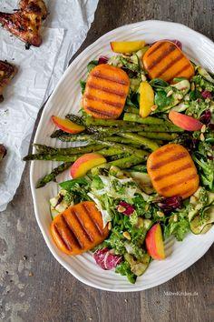 Salat mit gegrilltem