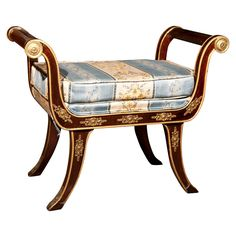 French Empire Style Tabourette   eBay