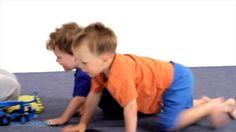 Cvičení s dětmi - 3.cvičení: ZVÍŘECÍ CHŮZE