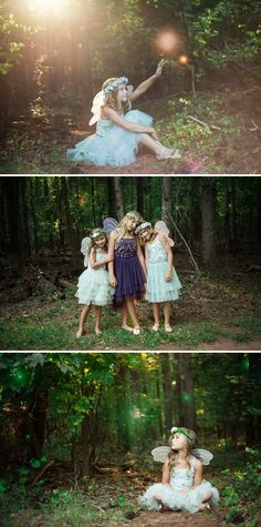Fairy Children in the Forest - Children's Fine Art Photography | A PRINCESS INSPIRED BLOG
