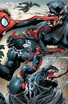 Venom: Space Knight #11 - Writer: Robbie Thompson / Art: Gerardo Sandoval / Colors: Dono Sanchez Almara / Letters: Joe Caramagna