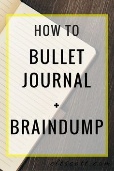 Discover how to bullet journal and brain dump (and WHY you should). + Free Worksheets Click through to continue reading.