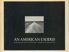 AN AMERICAN EXODUS. A Record of Human Erosion in the Thirties. by Lange, Dorothea Paul Schuster Taylor  New Haven, CT: Yale University Press, 1969. 145 pages of text. Paperback binding is very lightly shelfworn, soiled and toned, remaining tight and attractive. Illustrated with black-and-white photographs. The text is clean and unmarked. First paperback edi...  more   Offered By  Kurt Gippert Bookseller (ABAA)