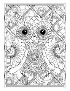 Mandala Owl Coloring Pages. 31 Mandala Owl Coloring Pages. More Than 15 Mandala Owls Coloring Pages Reducing the Stress Owl Coloring Pages, Printable Adult Coloring Pages, Mandala Coloring Pages, Free Coloring, Coloring Books, Colouring Pages For Adults, Coloring Sheets, Zen Colors, Mandala Art