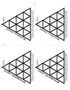 Triominos Puzzle PLANTS REVIEW Biology Fun Science