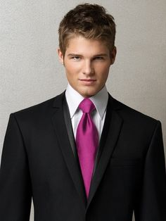 Shop Dessy Neck Tie - Men's Tuxedo Ties in Duchess Satin at Weddington Way. Find the perfect look for the groomsmen with matching accessories to your bridesmaid dresses. Our selection includes from a large variety of neckties, bow ties, cravats and more. Tuxedo For Men, Custom Tuxedo, Black Tuxedo, Black Tie, Groom Tuxedo, Black Vest, Aldo Conti, Groomsmen Accessories, Elegant Outfit