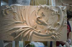 Plaster Art, Plaster Walls, Mural Wall Art, Wall Cladding, Artist At Work, Home Art, Art Inspo, Art Decor, Sculpture