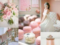 Pudrowy róż kolorem przewodnim ślubu i wesela