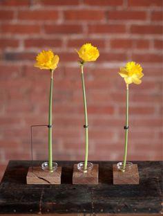 The Walter Single Bud Vase (series)