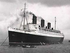 La leyenda de los fantasmas del Queen Mary: Un barco encantado