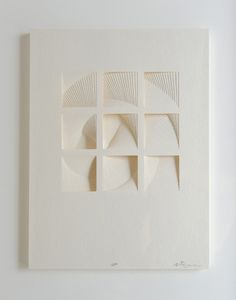 Matt Shlian - Ghostly Process Series: Squares Extruded