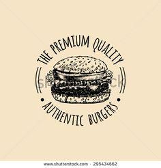 american burger vintage design - Google 搜尋