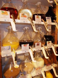 Drinks and oils of every kinds in Spandau: http://foreignerinberlin.blogspot.de/2013/12/sunday-in-spandau.html