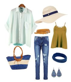 """All Sale Items"" by faergryn33 on Polyvore featuring WithChic, Boohoo, San Diego Hat Co., Accessorize and Swarovski"