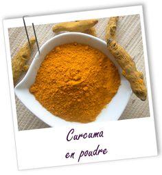Colorant végétal Curcuma poudre Aroma-Zone