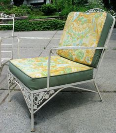 42 Best Chaise Lounging W Vintage Wrought Iron Images In