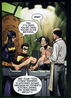 "missephy: ""(Red Robin #012) Just… Batfamily XD """
