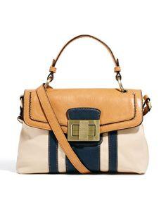 Fiorelli Alice Top Handle Colourblock Satchel Bag